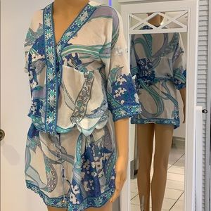 Emilio Pucci cover up/ Tunic dress